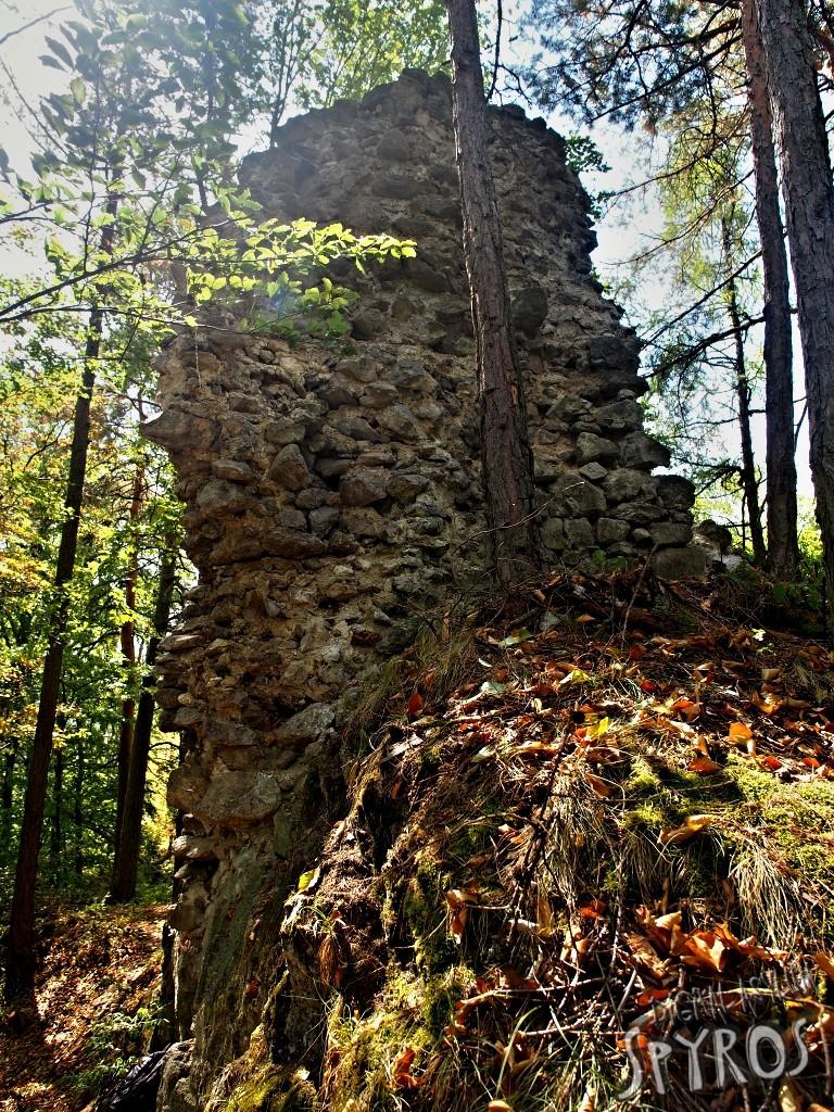 Hrad Lipovce - severná veža