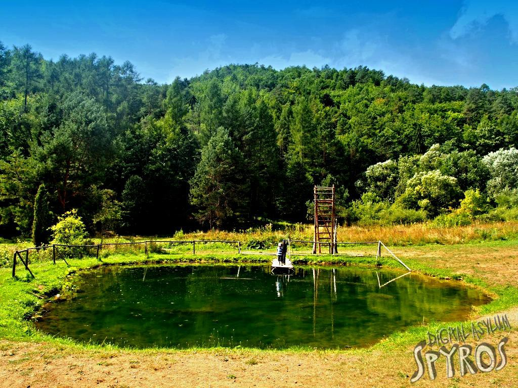 Lačnovský kaňon (NPR Kamenná baba) - nové jazierka