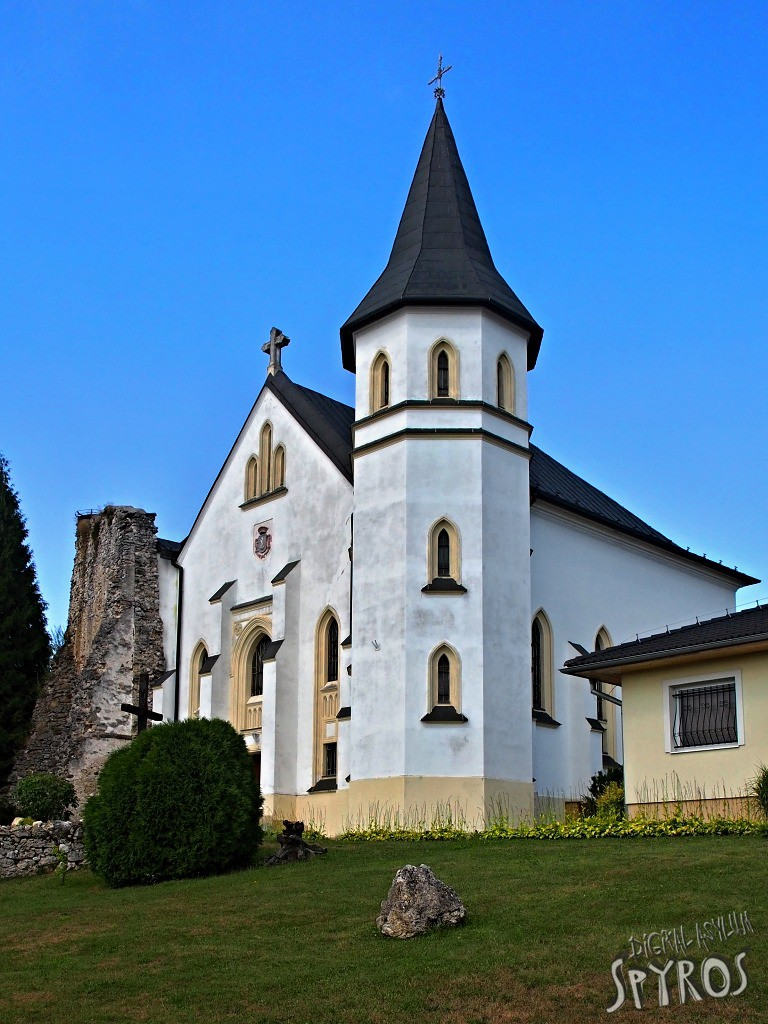Mošovce - kostol Najsvatejsej Trojice