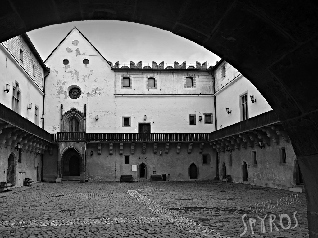 Zvolenský hrad - nádvorie