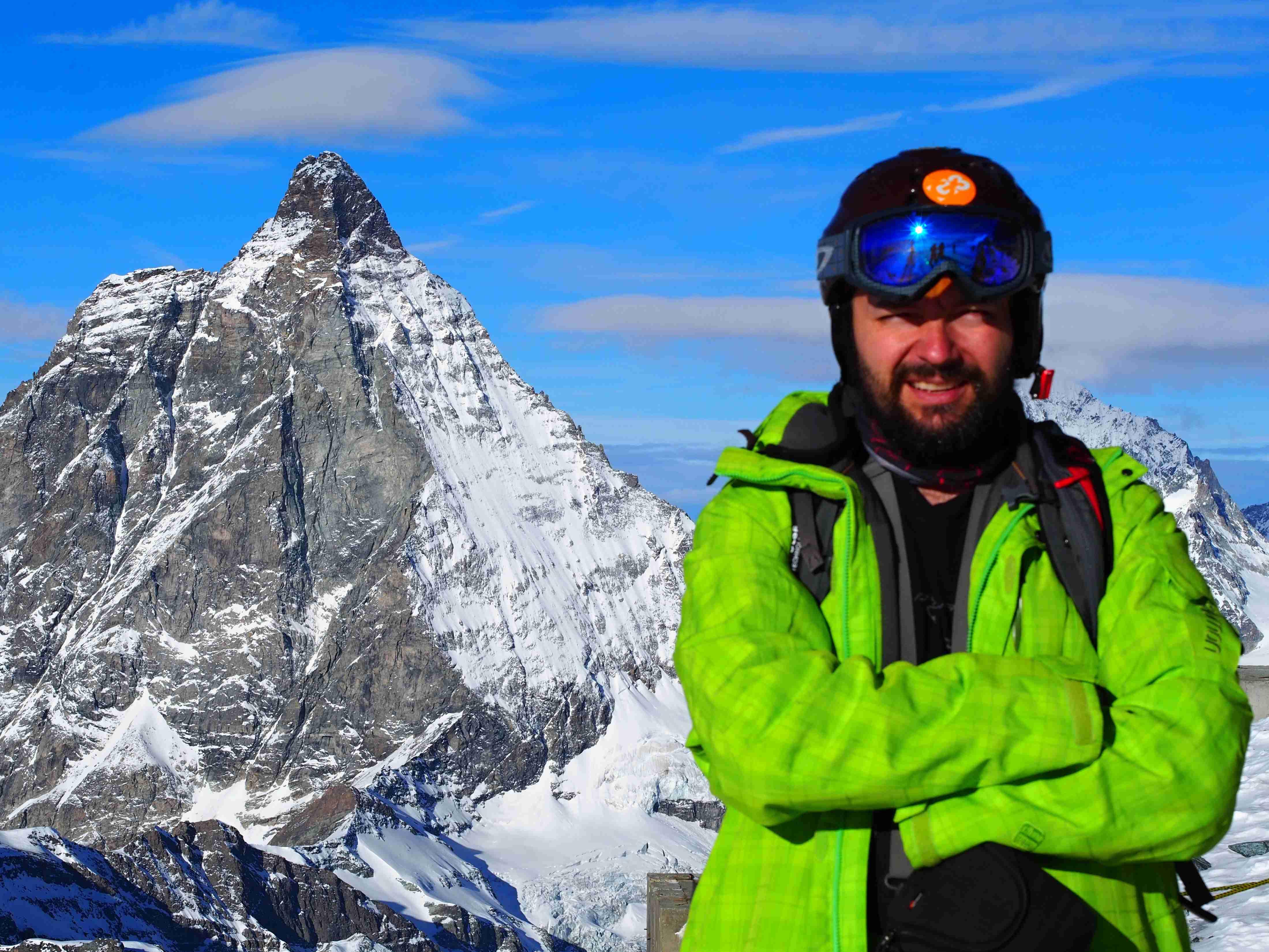 Matterhorn with Spyros