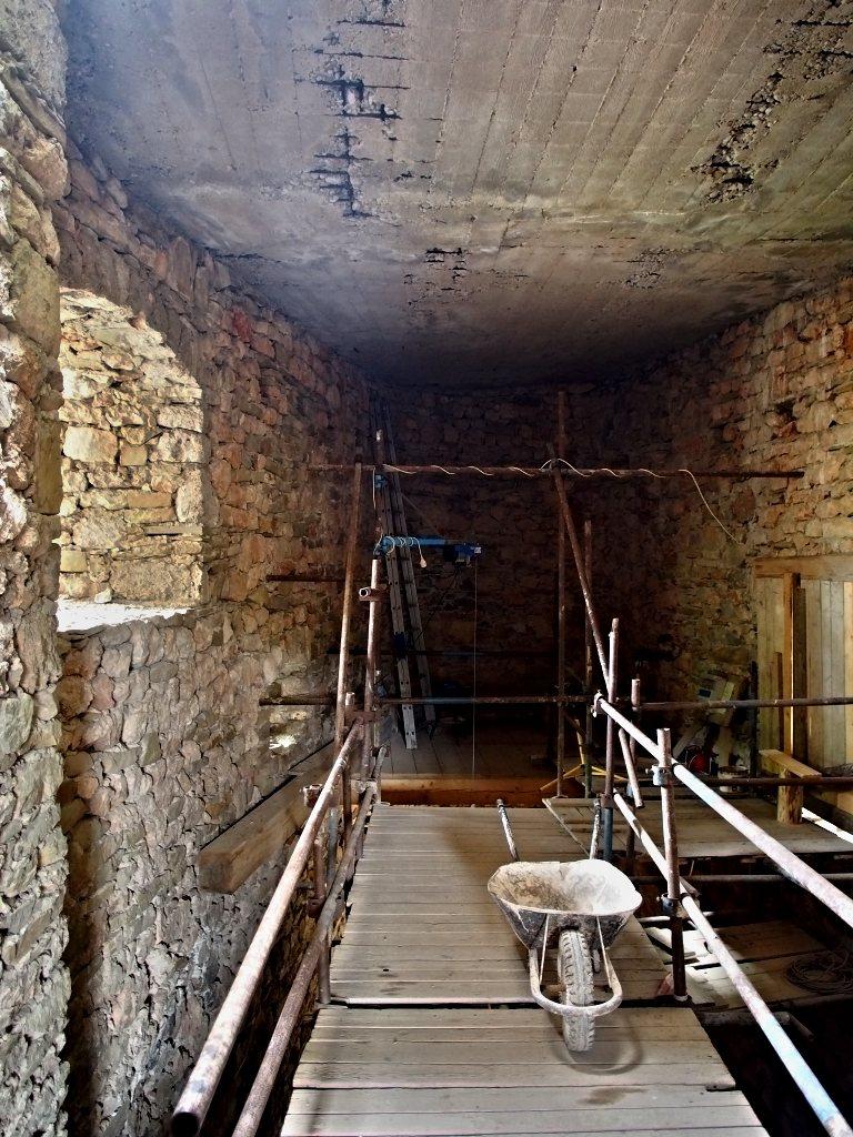 Hrad Lednica - Betonári