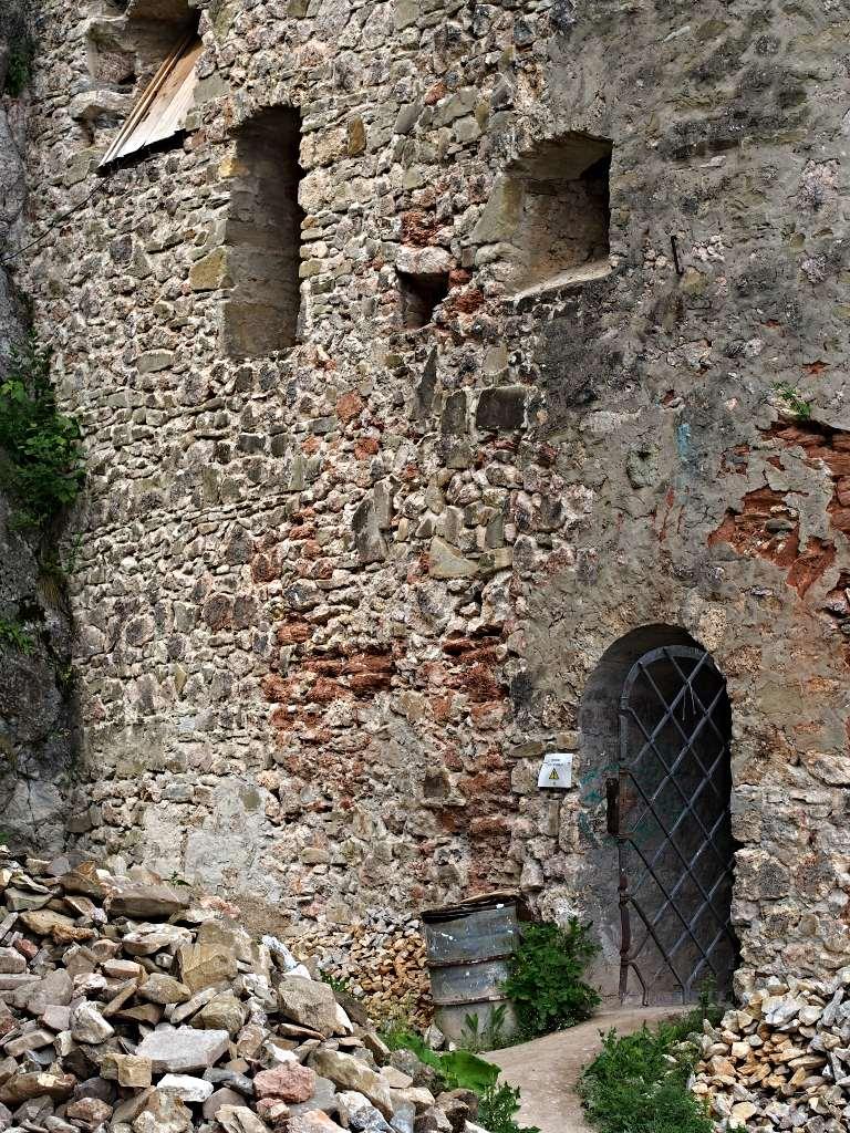 Hrad Lednica - Vchod