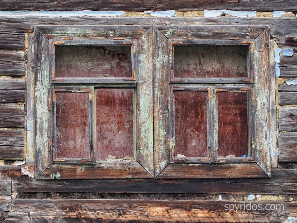 Jakubany - staré okno