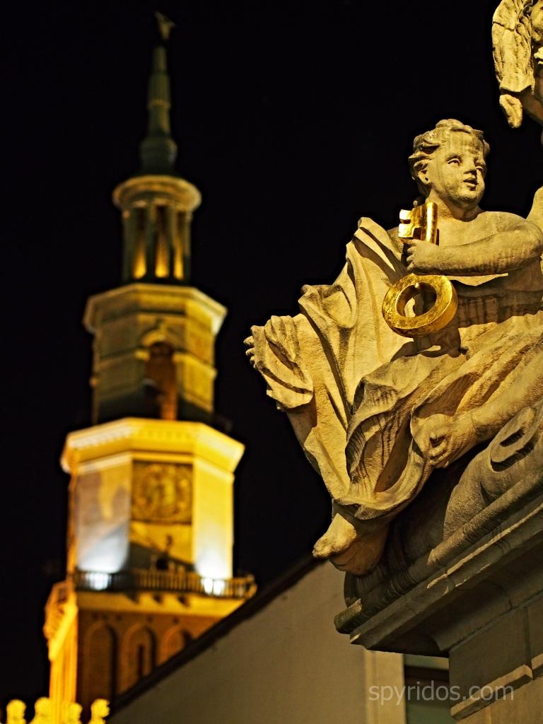 Poznań - Pomnik sw Jana Nepomucena