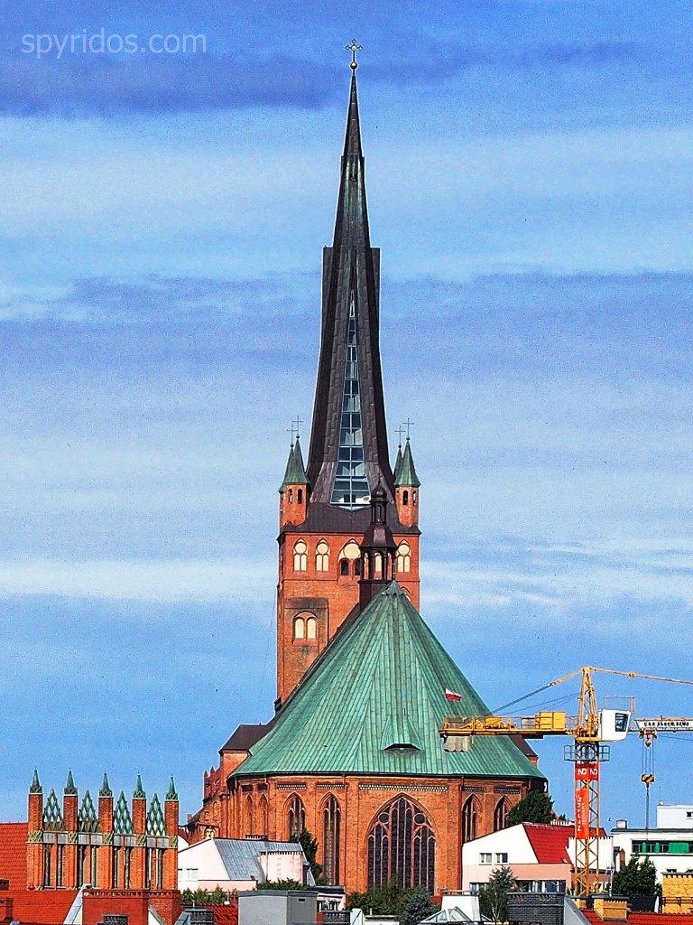 Szczecin - Bazylika archikatedralna sw Jakuba