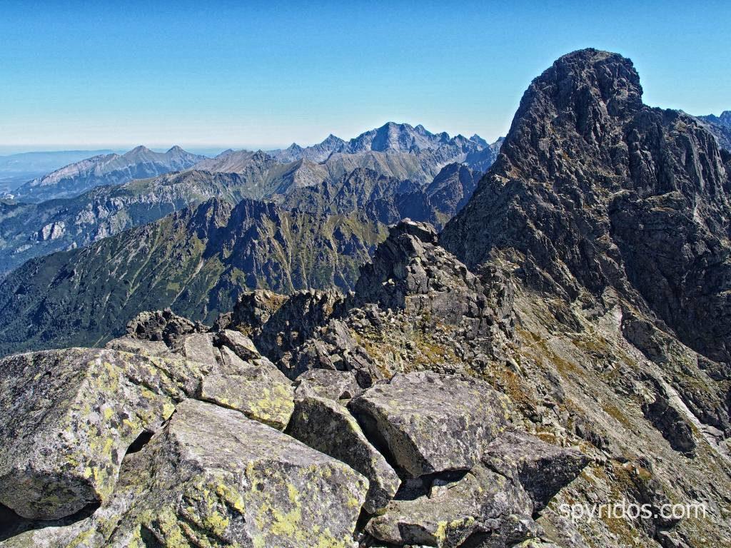 Čubrina - výhľad na Veľký Mengusovský štít