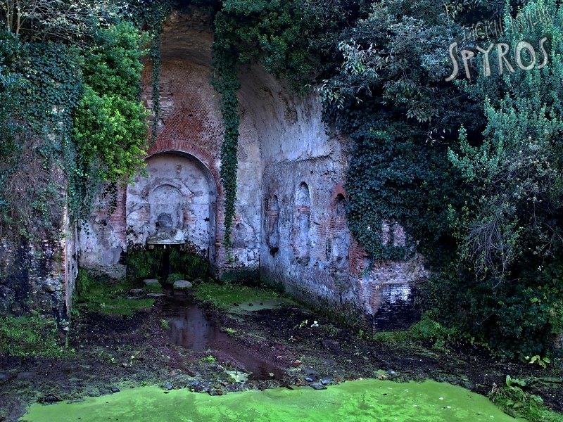 La Valle della Caffarella - Ninfeo di Egeria