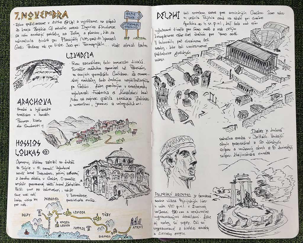 Boeotia Sketching